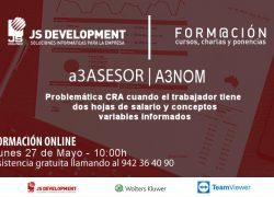 Formación online a3ASESOR/NOM 27 Mayo