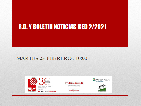 rd y boletin de noticias red 2/2021